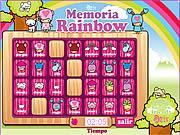 Memoria Rainbow game