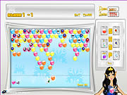 Play Bubble gems hunt Game