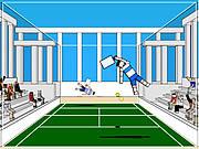 Ragdoll Tennis game