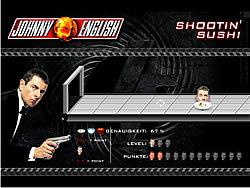 Johnny English - Shootin' Sushi game