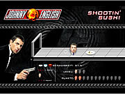 Play Johnny english shootin sushi Game