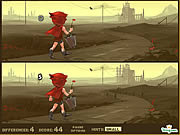 Play Little red riding hood a post apocalyptic adventure Game