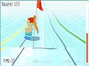 Play Titoonic snowboard Game