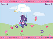Play Share bears catch a petal game Game