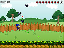 Sonic in Graden game