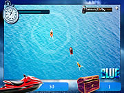 Blue Ski Challenge لعبة