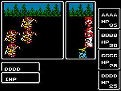 Final Fantasy 1 game