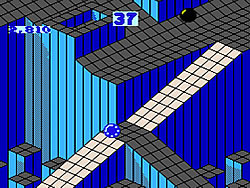 Marble Madness (NES version) game