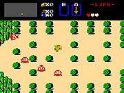 Play The legend of zelda nes version Game