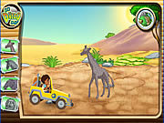 Diego's African Offroad Rescue game