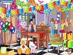 Suprise Party Decor game