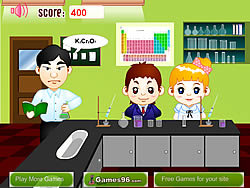 Laboratory Kiss game