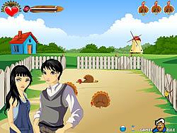 Farm Kissing game