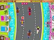 Play Anitas cycle racing Game