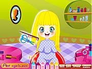 Little Cutie Hairdo game