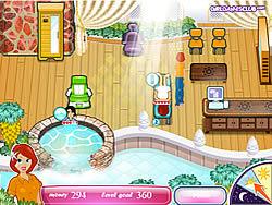 Sasha's Health Spa game