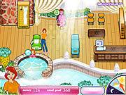 Play Sashas health spa Game