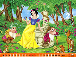 Hidden Numbers - Snow White game