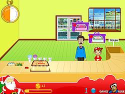 Christmas Cake Shop game