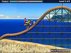 Beach Bike game