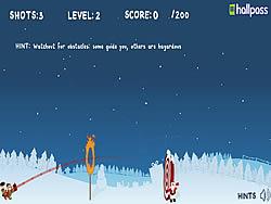 Christmas Cannon Blast game