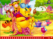juego Hidden Numbers - Winnie The Pooh