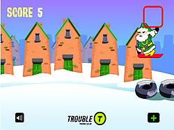 Santa Urban Snowboarding game