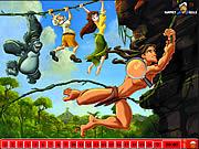 juego Hidden Numbers - Tarzan
