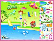 Beach Design game