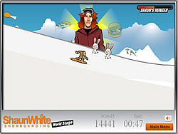 Shaun White Will Eat You  game