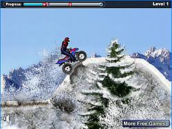 Snow ATV game