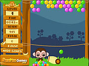 Play Rainbow bubble gum Game
