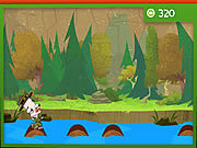 Play River whoosh log hop Game