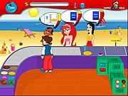 Beach Stall game