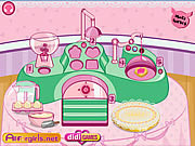 Play Kitty biscuit factory Game