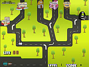 Traffic Diversion game