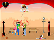 Play Lovers day kiss Game