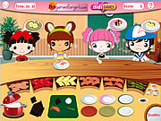 Play Busy sushi bar Game