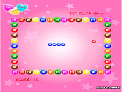 M and M Snake game