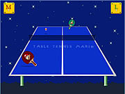 Table Tennis Mario game