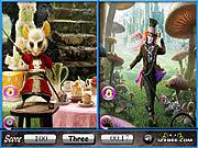 Alice in Wonderland Similarities game