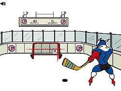 Capitaine Cage Hockey game