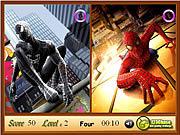 Spiderman Similarities game