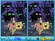 Sponge Bob Spot The Difference game