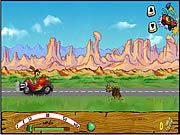 Red Jet Rabbit game