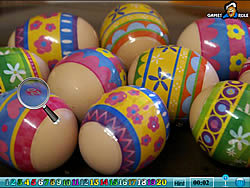Hidden Numbers - Easter game