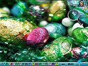 Hidden Numbers - Easter game