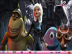 Hidden Numbers - Monster Vs Alien game