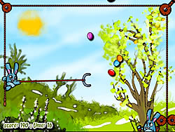 Bunny, Catch Those Eggs! game