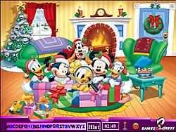 Hidden Alphabets - Mickey Mouse game